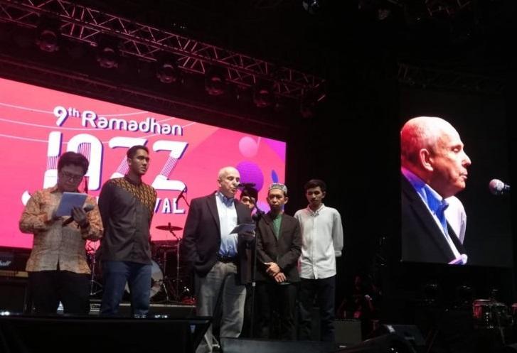 Dubes AS untuk Indonesia Joseph R. Donovan Jr  di acara Ramadan Jazz Festival 2019