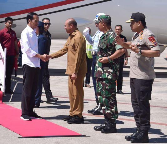 Tiba di Kupang, Presiden Jokowi Resmikan Bendungan Rotiklot di Belu