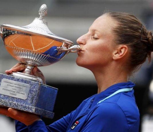 Juara di Italia Open, Pliskova Melesat ke Peringkat Dua Dunia WTA