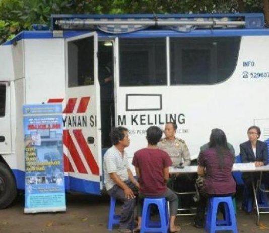 Berikut Lima Lokasi SIM Keliling di Wilayah Jakarta Hari Ini