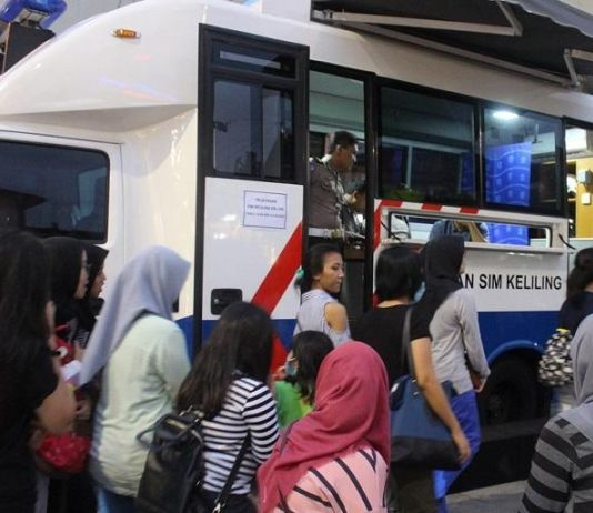 Ini Lokasi Layanan SIM Keliling di Lima Wilayah Jakarta