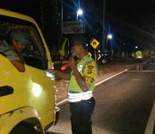 Antisipasi Massa ke Jakarta, Polres Mesuji Razia Kendaraan