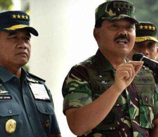 Panglima: TNI Solid Dukung Tugas Polri Tangani Kerusuhan