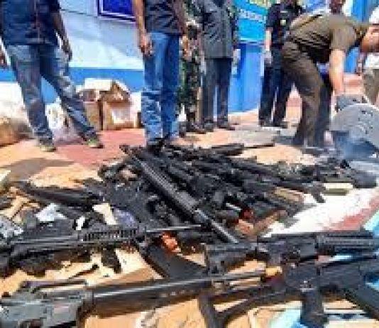 Polisi Sita Sejumlah Senjata yang Akan Dipakai saat Demonstrasi 22 Mei 2019