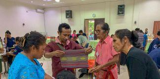 Proyek Percontohan Kerja Sama Kemendes PDTT-Jahitin.com Digelar di Kupang