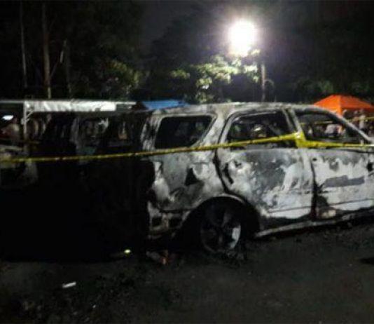Jalan KS Tubun Sudah Bisa Diakses Pengendara, Petugas Bersihkan Sisa Kerusuhan
