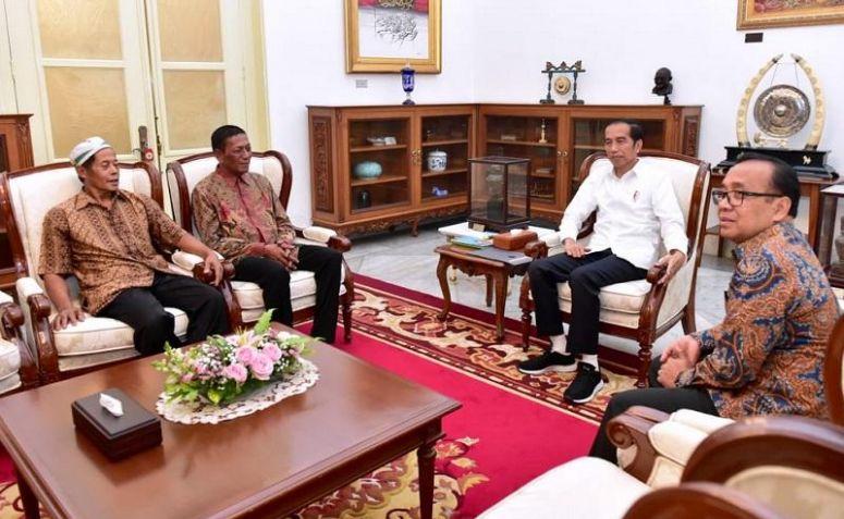 Tak Diduga, Jokowi Bantu Pedagang yang Dijarah saat Aksi 22 Mei