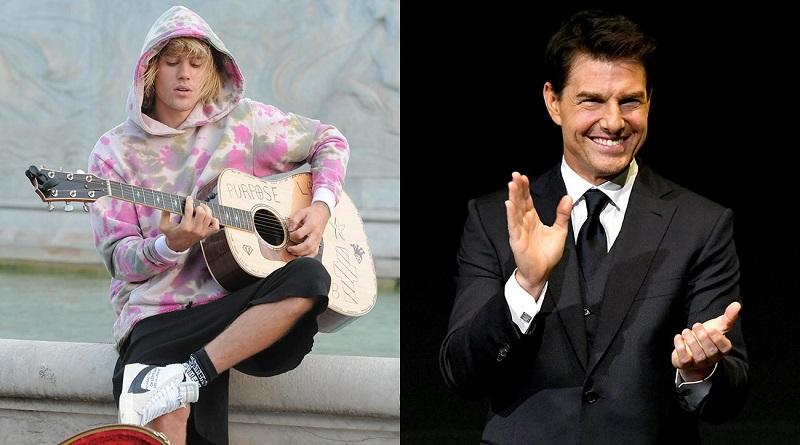 Justin Bieber dan Tom Cruise