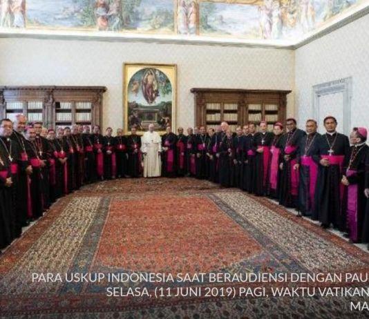 Sebanyak 36 Uskup Indonesia Kunjungi Paus di Vatikan, Ini yang Dilakukan
