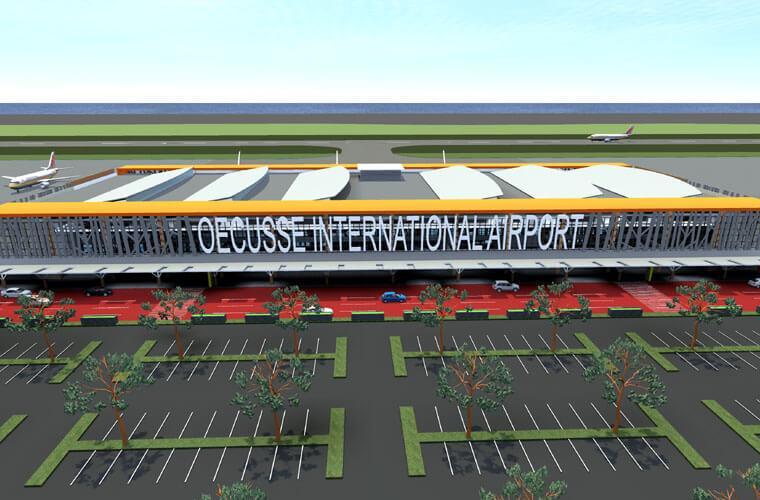 Ilustrasi Bandara Internasional Oecusse, Timor Leste