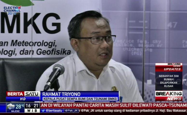 BMKG Paparkan Penyebab Gempa Magnitudo 5,8 di Bali