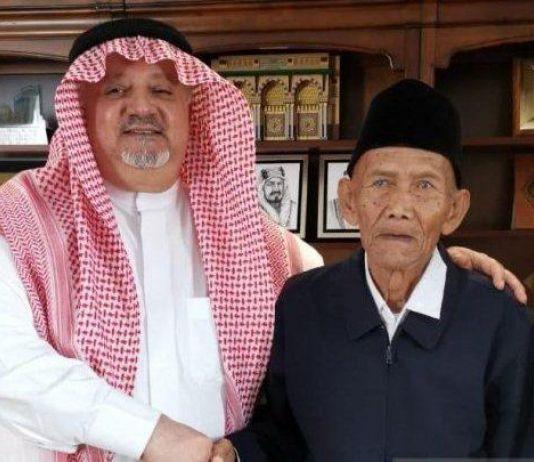 Jadi Perbicangan, Ternyata Ini Tujuan Raja Salman Undang Kakek 94 Tahun dari Indonesia
