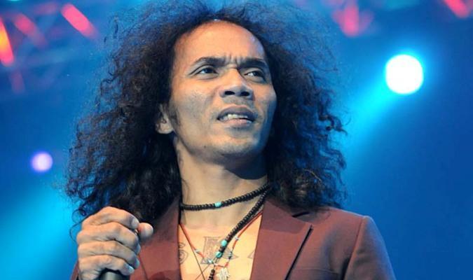 Vokalis Grup Band Slank, Akhadi Wira Satriaji atau kerap disapa Kaka.