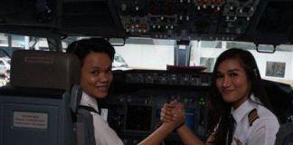Inilah 2 Pilot Pertama Puteri Papua di Maskapai Terbesar Indonesia