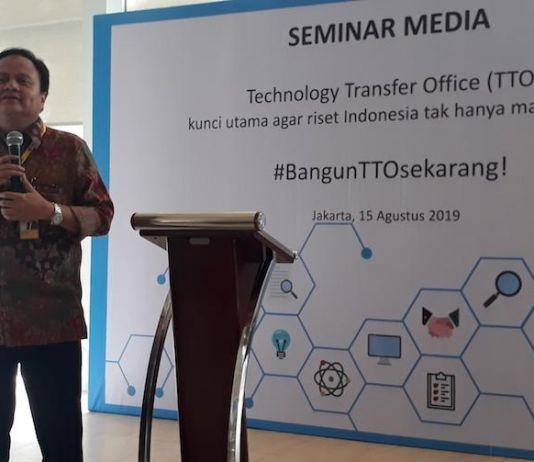 Indonesia Memerlukan Technology Transfer Office