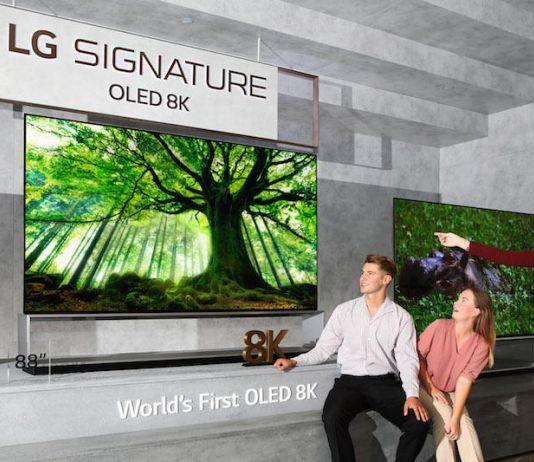 LG Siap Luncurkan TV OLED 8K Pertama di Dunia