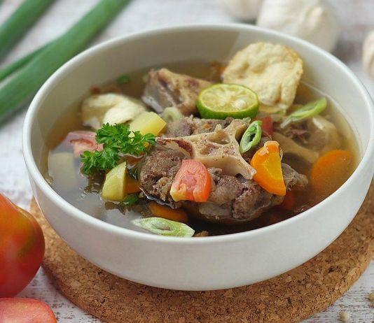 Sup Iga yang Gurih dan Hangat, Begini Cara Membuatnya