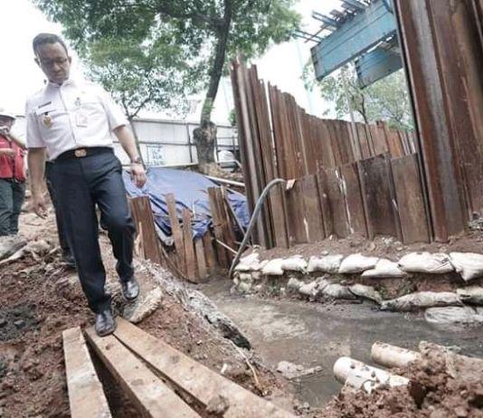 Gubernur Anies: Pemotongan Kabel Optik Bentuk Penegakan Aturan
