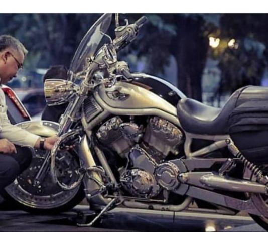 Intip Hobi Mendes PDTT, Rawat Motor Harley Davidson Kesayangan