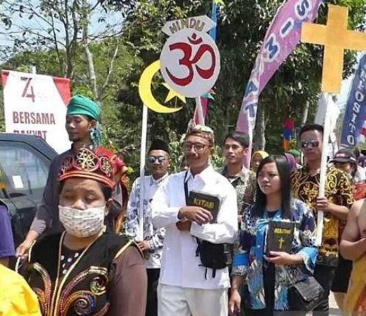 Pesan dari Temanggung: 'Anak Saya Dua, Kristen dan Budha, Kami Hidup Rukun'