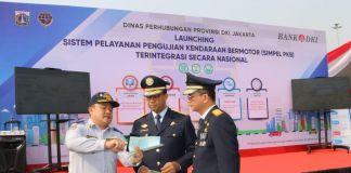 Dishub DKI Jakarta Gandeng Bank DKI Luncurkan Simpel PKB