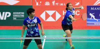 Tiga Ganda Putri Indonesia Melangkah ke Perempat Final WJC 2019