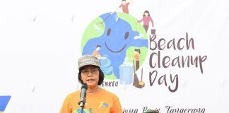 Menjelang 'Peringatan Hari Oeang' Kemenkeu Selenggarakan Kegiatan Bersih Pantai