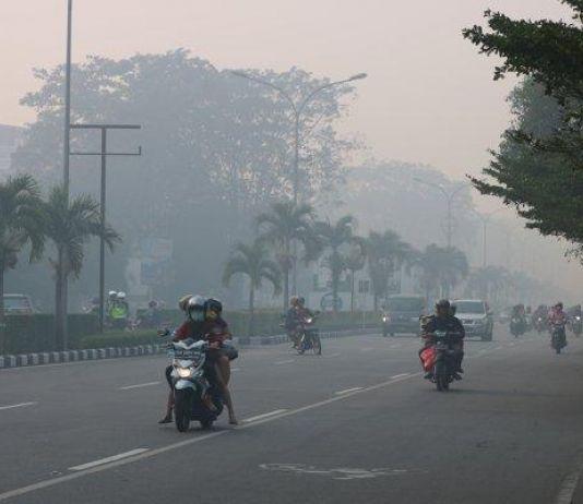 Kabut Asap Kian Pekat, Sekolah di Kota Jambi Libur