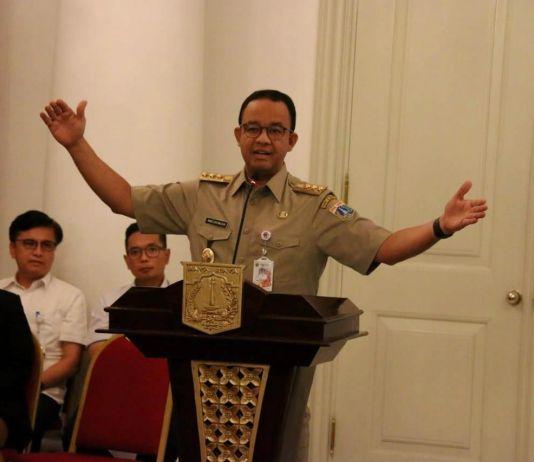 Dua Tahun Pimpin Jakarta, Gubernur Anies Sebut 40 Persen Program Telah Dikerjakan