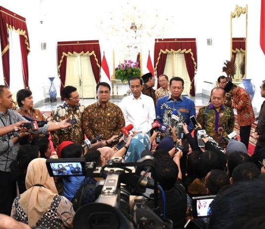Pelantikan Presiden dan Wapres 20 Oktober, Ini Permintaan Jokowi ke 10 Pimpinan MPR