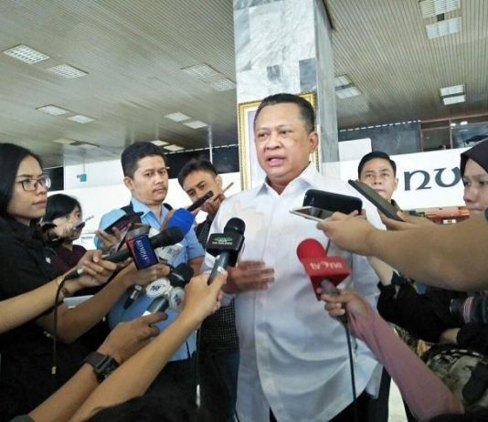 MPR Antar Undangan Pelantikan Presiden ke Jokowi