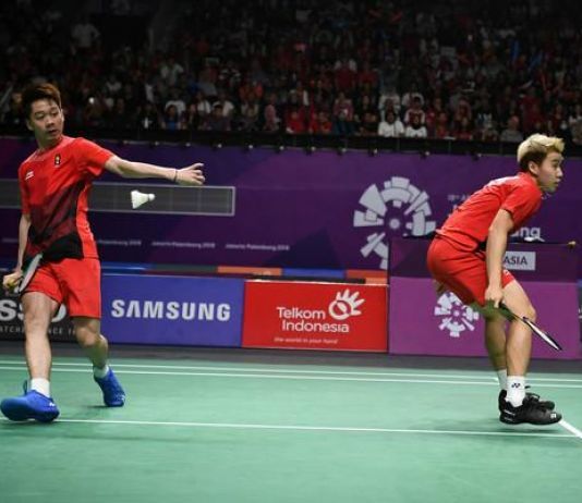 Minions Melangkah ke Babak Dua Denmark Open 2019