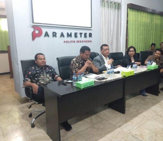 Survei Parameter: 74,6% Publik Sambut Pelantikan Jokowi dengan Riang