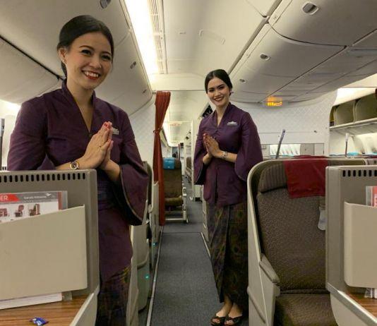 Gelar Tenun Flight, Garuda Perkenalkan Puspa Nusantara