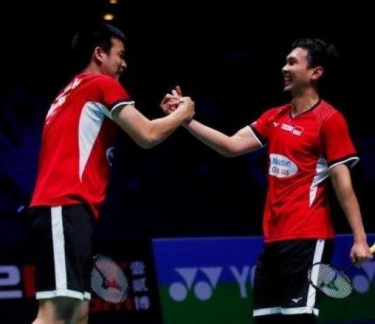 Ganda Putra All Indonesian Final di Denmark Open