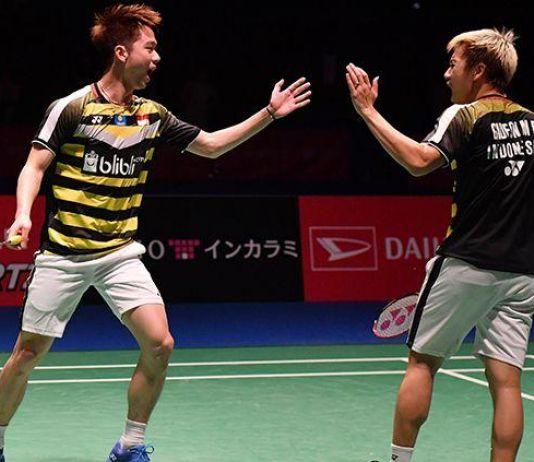 Pasangan Kevin/Marcus Lolos ke Final Denmark Open 2019