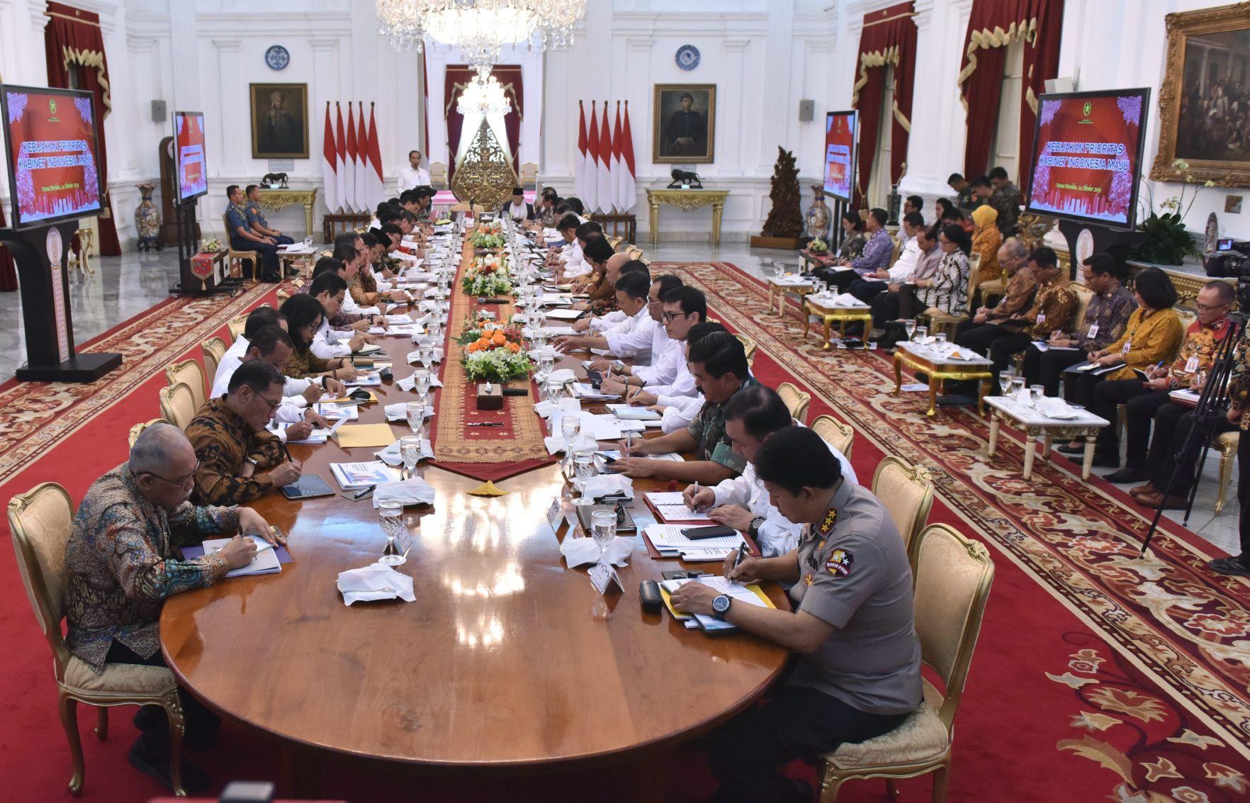 Image result for kabinet indonesia maju 2019