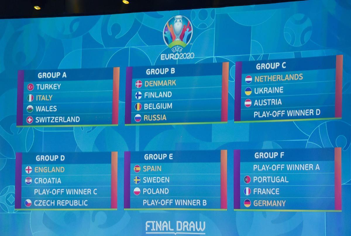 Portugal Di Grup Neraka Ini Hasil Lengkap Undian Grup Piala