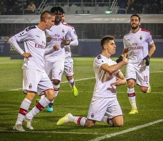 Lanjutkan Tren Kemenangan, AC Milan Pukul Bologna 3-2