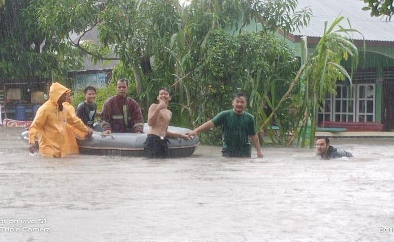 Banjir Bandang Rusak Puluhan Rumah Warga, Dua Orang Tewas