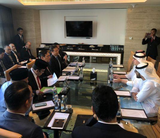 Ini Tujuan Menko Luhut Bertemu Putera Mahkota UEA di Abu Dhabi