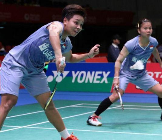 Singkirkan Matsuyama/Shida, Greysia/Apriyani ke Semifinal Indonesia Masters 2020