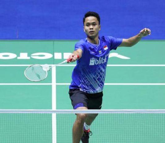 Atasi Perlawanan Antonsen, Anthony Juara di Indonesia Masters