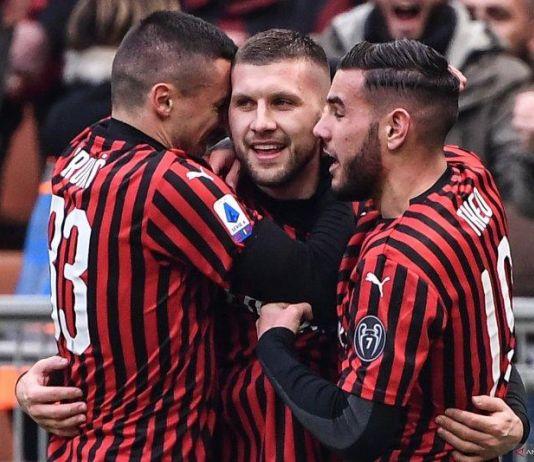 Rebic Toreh Dua Gol, AC Milan Menang Dramatis Atas Udinese