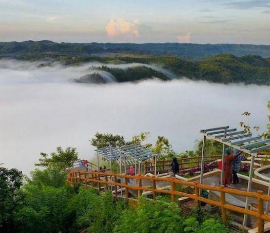 Melongok Kecantikan Mangunan di Yogyakarta