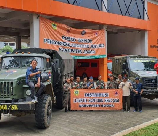 Mampu Tembus Medan Berat, Ini Truk Pengangkut Logistik GAZ Sadko di Bogor