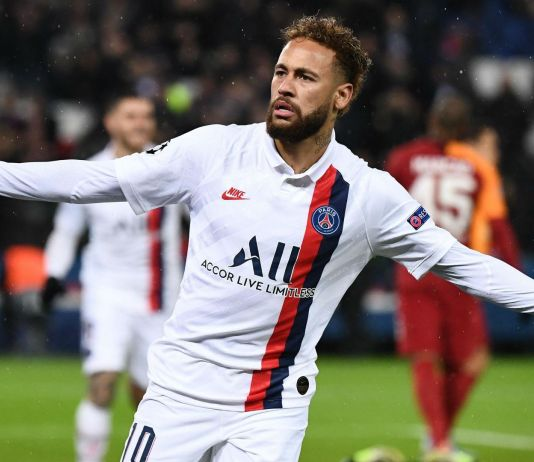 Gol Neymar ke Gawang Lille Dipersembahkan Buat Kobe Bryant