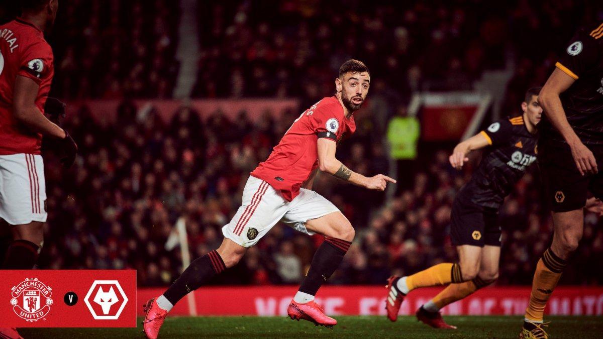 Fernandes Debut MU Ditahan Imbang Wolves