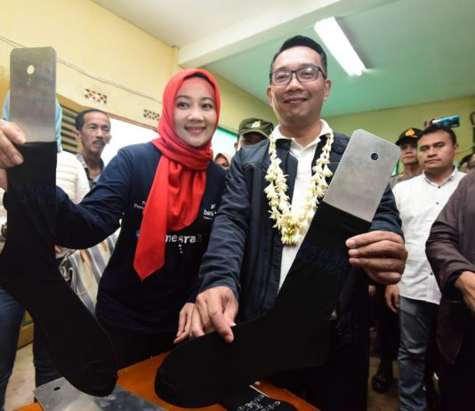 Mengintip Ridwan Kamil Ketika Jatuh Hati pada 'Harumnya' Kaus Kaki