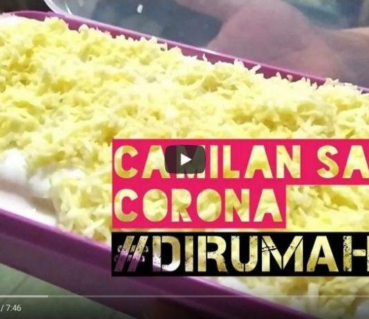 Corona Menggila, Sajikan Cemilan Sehat di Rumah Saja